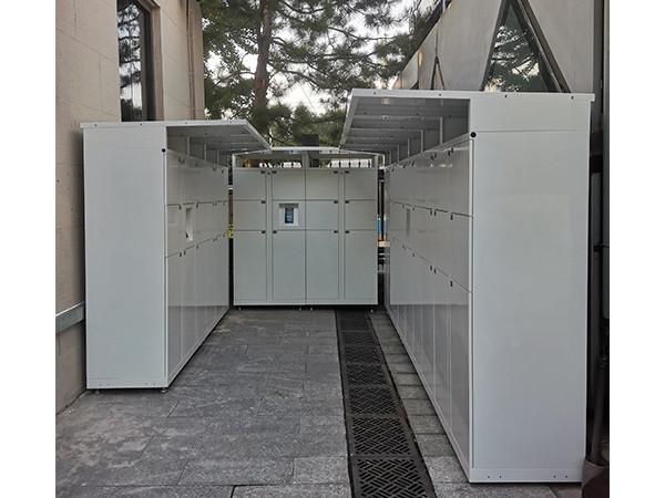 天瑞恒安人脸识别智能存包柜落地北京天文馆正式面向游客