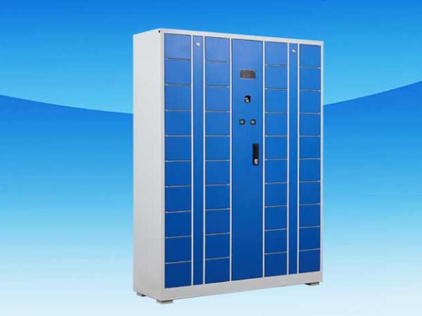 智能储物柜为学生提供更便利的储物模式,成为学校不可缺少的一员