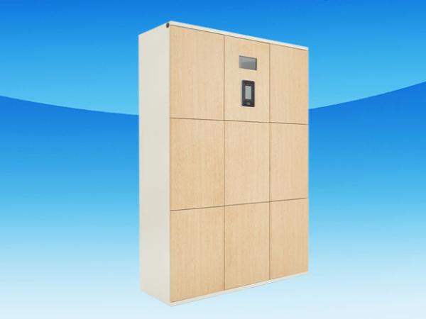 智能书包柜改变传统储物模式,购物使用书包柜简单便捷