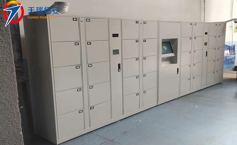 沈阳车辆段二维码联网型智能储物柜