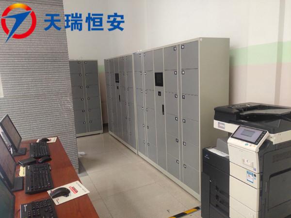 北京联合大学图书馆采购天瑞恒安智能自助寄存柜 节省99%阅读人员时间