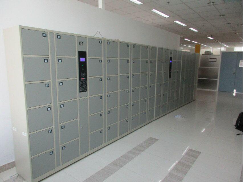 【天瑞恒安】智能储物柜在河北农业大学正式投放使用