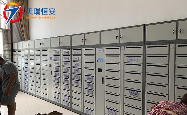 刷卡型智能文件交换柜