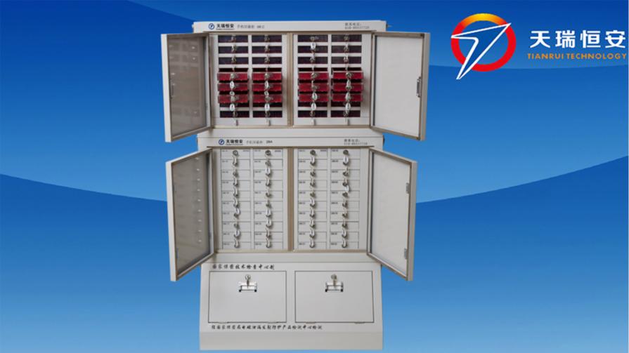 32格亚克力+40格手机信号屏蔽柜组合
