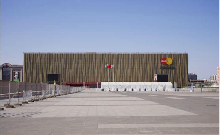 北京五棵松奥运场馆电子寄存柜案例