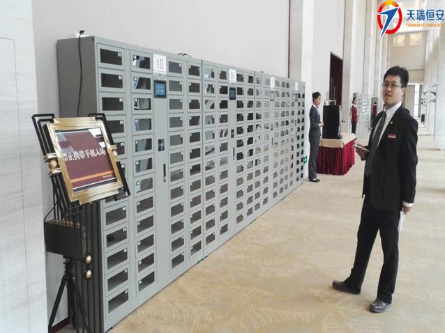 中国石油天然气集团智能手机存放柜项目案例