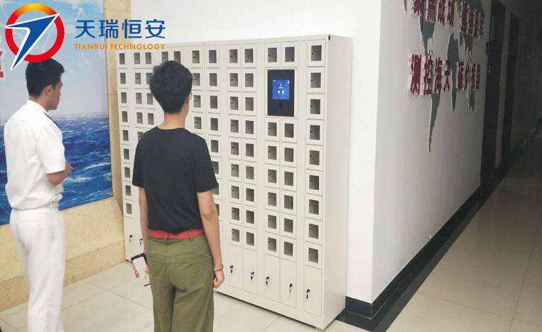 指静脉型智能手机充电存放柜